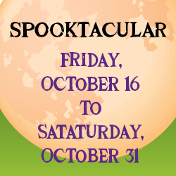 Spooktacular Costume Contest – Last Day to Enter