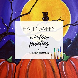 Halloween Window Painting at Lincoln Common