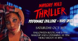 Thriller Performance Bootcamp with Urbanity Dance Chicago
