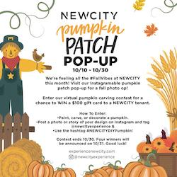 NEWCITY Hosts Pumpkin Patch Pop-Up and Decorating Contest