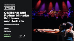 Audiotree Presents: STAGED with Califone and Robyn Mineko Williams and Artists live from Lincoln Hall