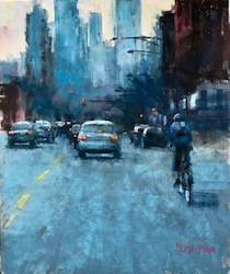 Let's Paint Your Favorite City Virtually with Nancie King Mertz