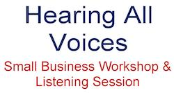 Hearing All Voices: IRS Small Business Workshop & Listening Session