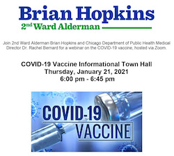2nd Ward Covid-19 Vaccine Informational Town Hall