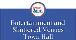 Entertainment and Shuttered Venues Town Hall