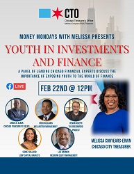 Money Mondays with Melissa Presents Youth in Investments and Finance