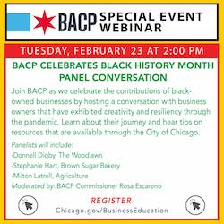 BACP Business Education Workshop Webinar: BACP celebrates Black History Month Panel Conversation