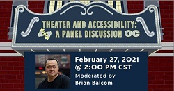 Theater and Accessibility: A Panel Discussion Hosted by Victory Gardens Theater