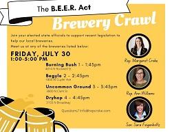The B.E.E.R. Act Brewery Crawl