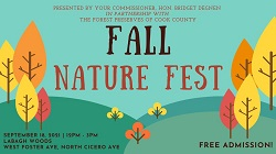 Fall Nature Fest @ LaBagh Woods with Comm. Bridget Degnen