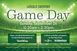 Game Day on The Plaza at Lincoln Common