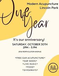 Modern Acupuncture One Year Anniversary Celebration