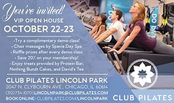 Club Pilates VIP Open House