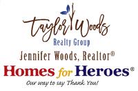 Jennifer Taylor Woods, Realtor® Affiliate, Homes for Heroes®
