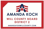 Amanda Koch for Will County Board, District 2