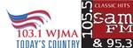 103.1 WJMA, 105.5 SAM FM