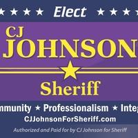 CJ Johnson for Sheriff