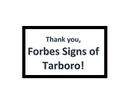 Forbes Signs, LLC.