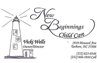 New Beginnings Child Care Center