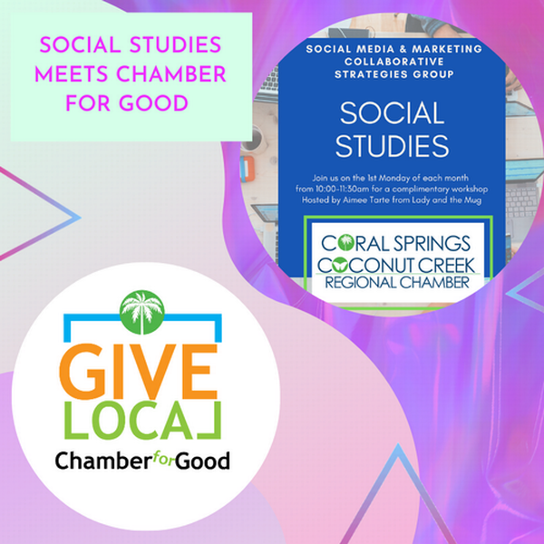 Chamber For Good Business Breakfast Presented by Blue Stream Featuring Social Studies