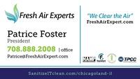 Fresh Air Experts SanitizeIT Spray Service