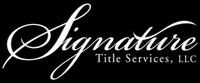 Signature Title Services, LLC