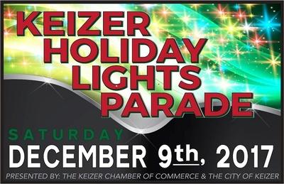 Keizer Holiday Lights Parade - Dec 9, 2017 - Events - Keizer Chamber