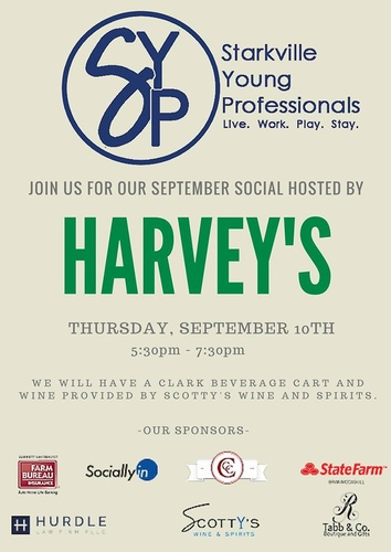 Starkville Young Professionals September SocialYoung Professionals Social