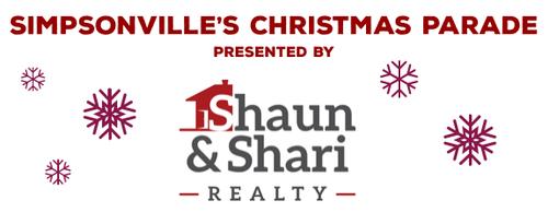 Simpsonville Christmas Parade 2019 Simpsonville's Annual Christmas Parade presented by Shaun & Shari
