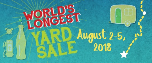 World\'s Longest Yard Sale - Jul 20, 2020