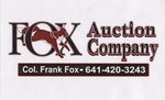 Fox Auction Company