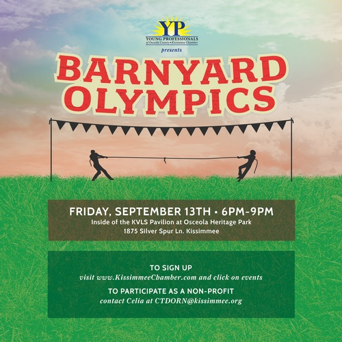 Young Professionals: 2019 Barnyard Olympics and Non-Profit Fair