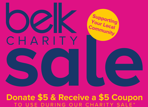 Belk Charity Sale - Charity Sign-Up - Aug 24, 2019