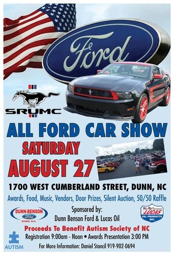 Dunn Benson Ford Car Show