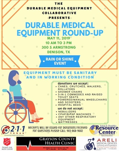 Durable Medical Equipment Round-up - May 11, 2019