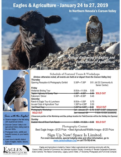 2019 Eagles & Agriculture @ Carson Valley, Nevada Gardnerville, Genoa, Minden and surrounding areas