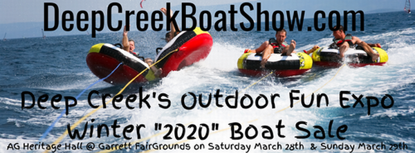 March 2020 Deep Creek Boat Expo - Mar 28, 2020 to Mar 29, 2020