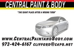 CENTRAL PAINT & BODY COLLISION REPAIR