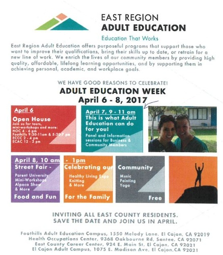 6 week adult college