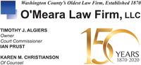 O'Meara Law Firm, LLC - Attorney Timothy J. Algiers