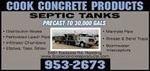 Cook Concrete Products, Inc.