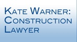 Kate Warner, Construction Lawyer