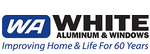 White Aluminum & Windows