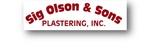 Sig Olson & Sons Plastering, Inc.
