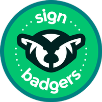 Sign Badgers