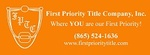First Priority Title Company, Inc.