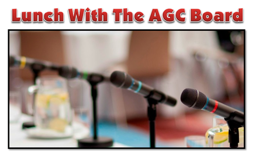 CLC - Lunch With The AGC Board 5/16/19 - May 16, 2019