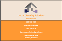 Gator Cleaning Solutions