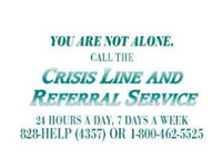 Crisis Line & Referral Service