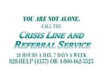 Crisis Line & Referral Service